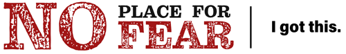 No Place For Fear logo