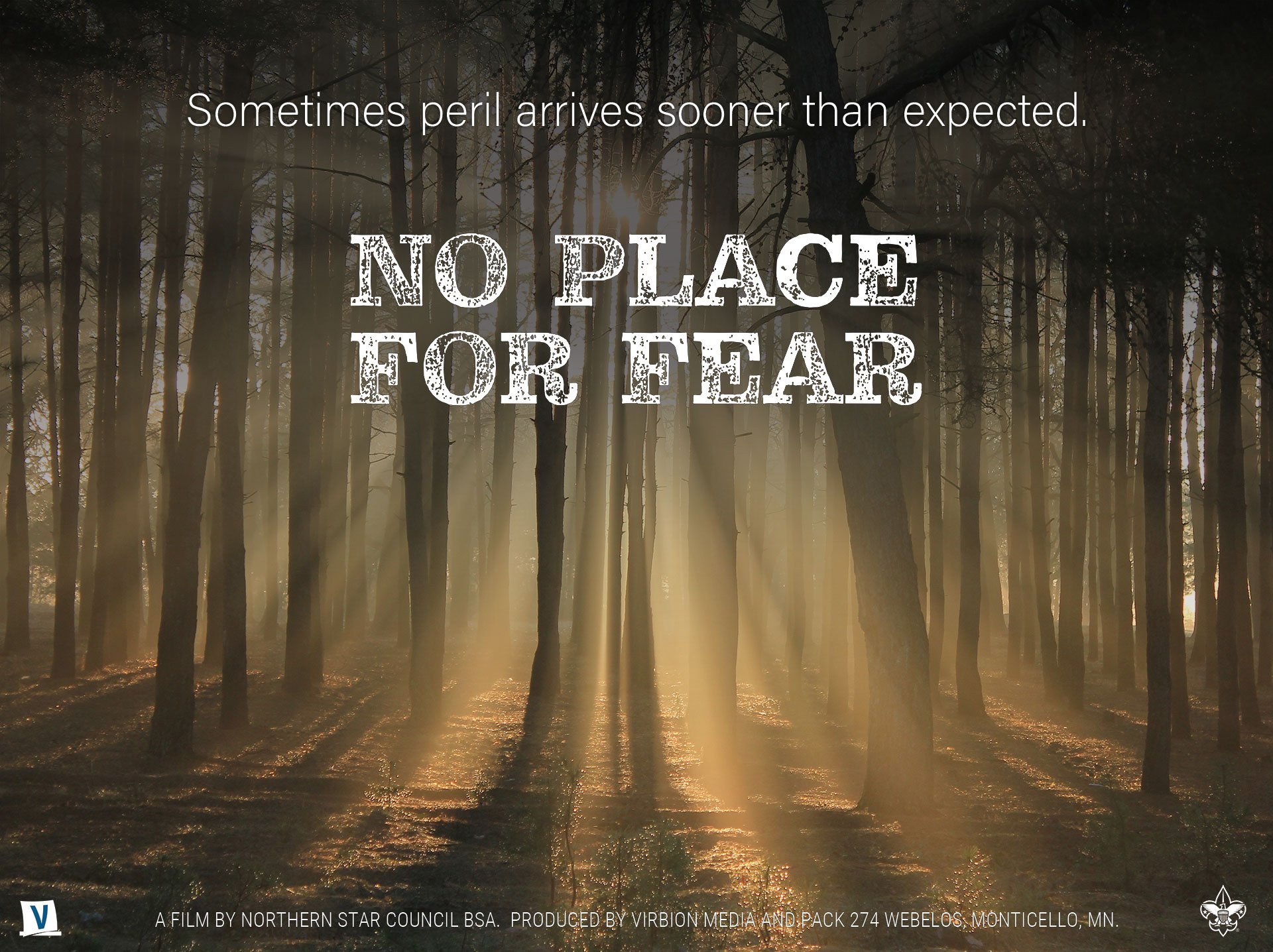 No Place For Fear - official movie poster